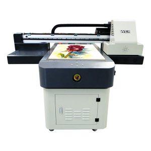 યુવી ફ્લેટબેડ પ્રિન્ટર એ 2 પીવીસી કાર્ડ યુવી પ્રિન્ટિંગ મશીન ડિજિટલ ઇંકજેટ પ્રિન્ટર DX5