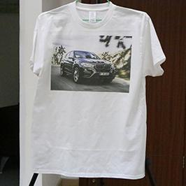 એ 3 ટી-શર્ટ પ્રિન્ટર દ્વારા વ્હાઇટ ટી શર્ટ પ્રિન્ટિંગ નમૂના WER-E2000T 2